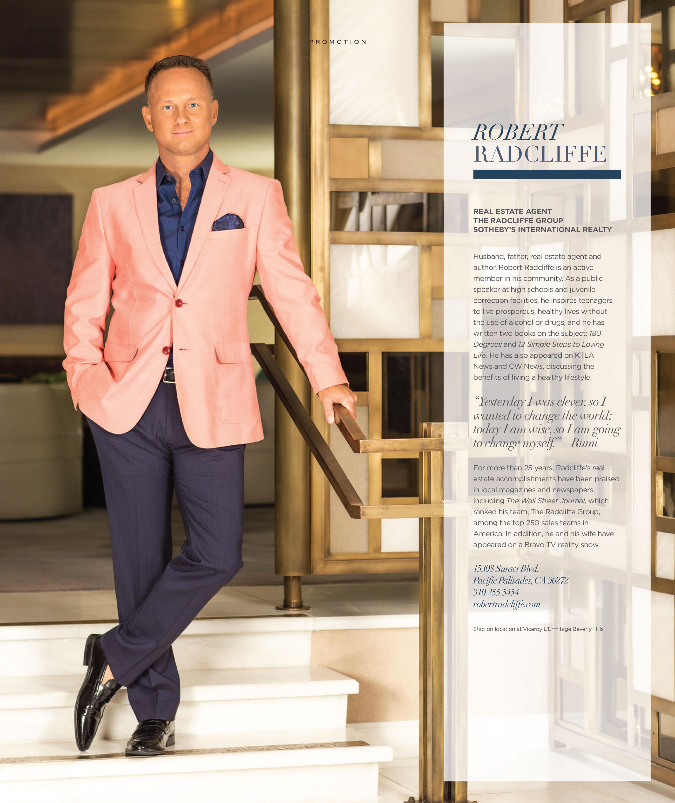 Robert Radcliff - Angelino Magazine - Modern Man 2016